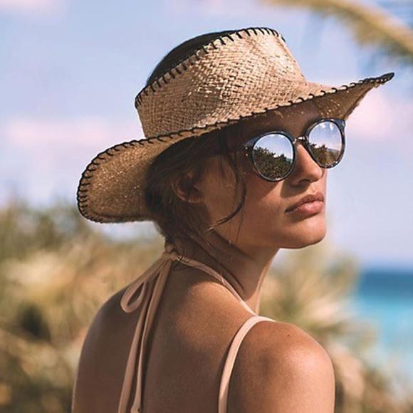 450da5018c278 Anthropologie Wyeth Halo Brim Straw Hat